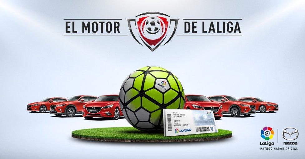 Una marca de coches negocia el patrocinio de la Liga 2017
