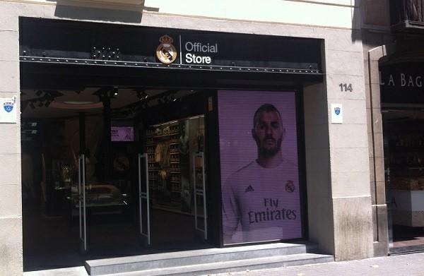 El Real Madrid abre una segunda tienda en Barcelona
