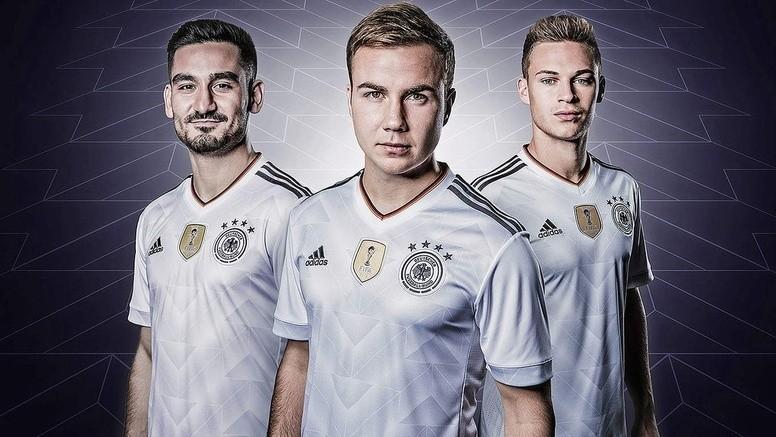 Adidas presenta la nueva camiseta de Alemania para la Copa Confederaciones