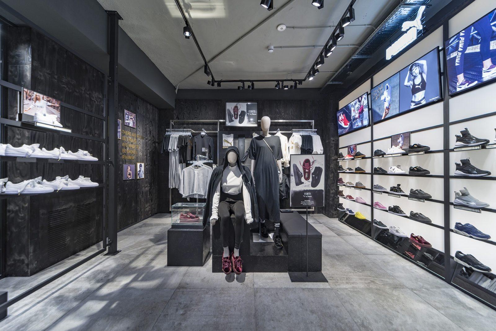 Puma abre nueva tienda en Madrid