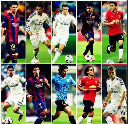 5 de los 7 jugadores más valiosos del mundo juegan el #LaLiga