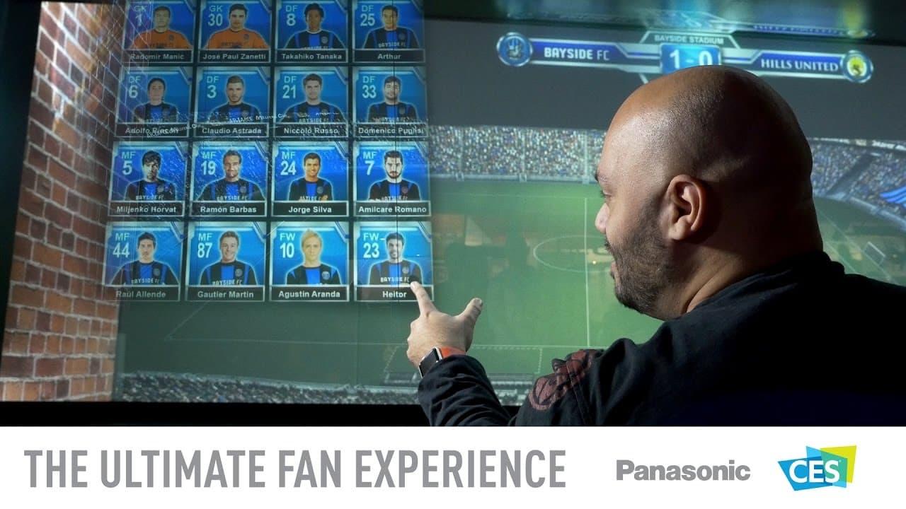 Panasonic presenta nuevo sistema de realidad virtual en tiempo real para estadios