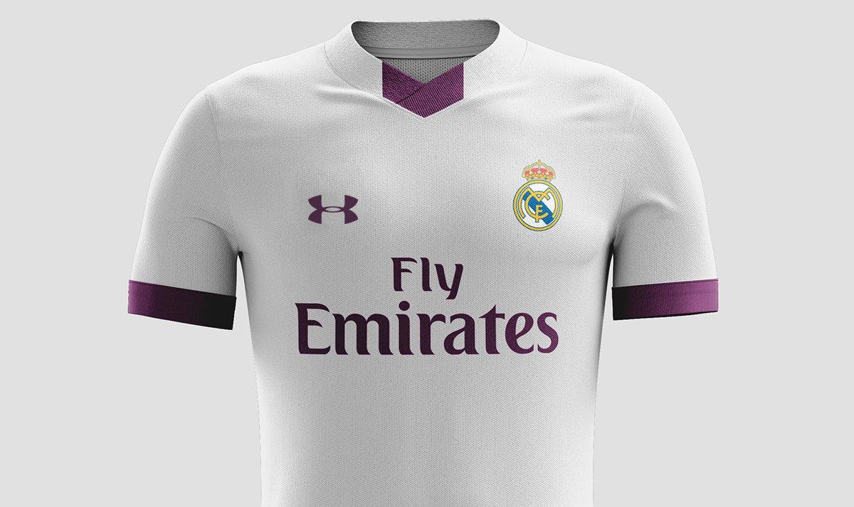 Under Armour ofrece un megacontrato por la camiseta del Real Madrid