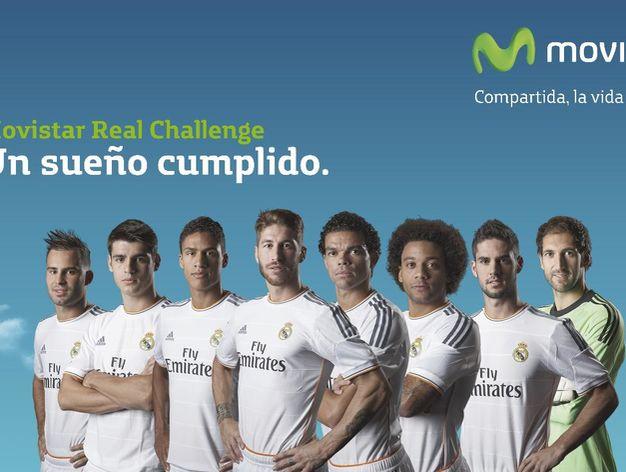 El Real Madrid firma con Movistar el mayor acuerdo de patrocinio deportivo de España