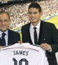 Florentino y James / Agencias
