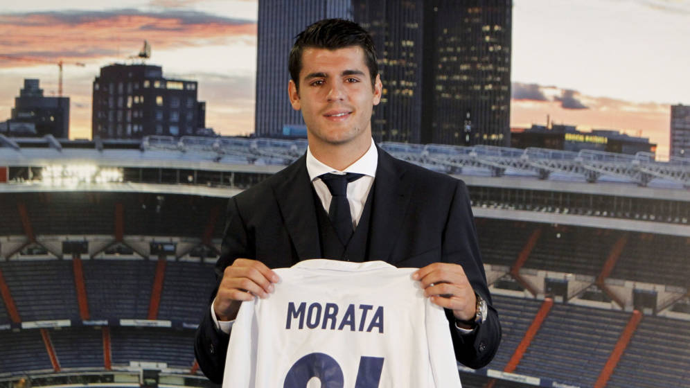 El verdadero valor de mercado de Morata (Sistema MERC)