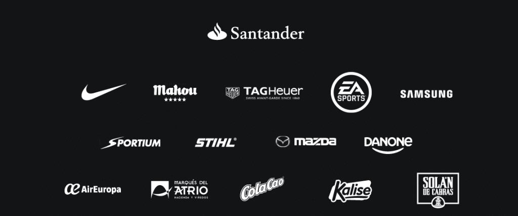 Algunos patrocinadores de la Liga / Agencias