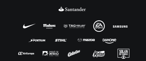 Los 7 patrocinadores más importantes de la Liga