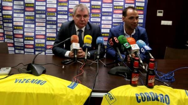 Vízcaino anuncia un bloqueo natural al interés de un grupo italiano en comprar el Cádiz