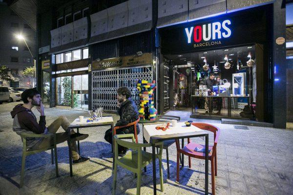 El restaurante Yours de Gerad Piqué en Barcelona en la ruina