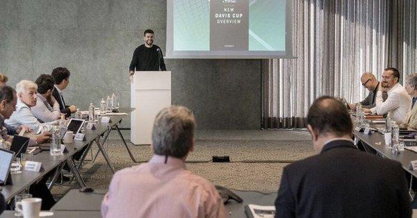 El grupo inversor Kosmos de Gerard Piqué transformará la Copa Davis en un superevento global