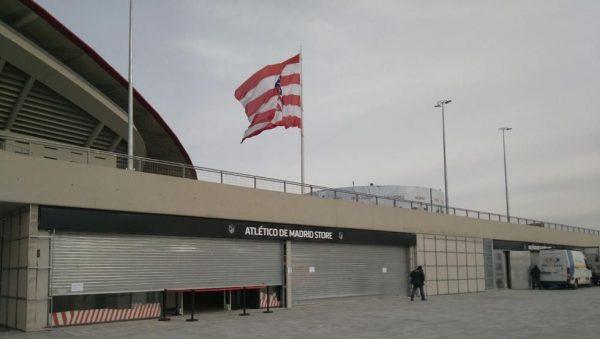 Asaltan la tienda del Atlético de Madrid en el Metrolipolitano