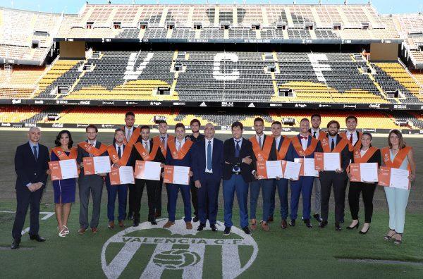 Máster del Valencia CF revalida como mejor en gestión deportiva de España