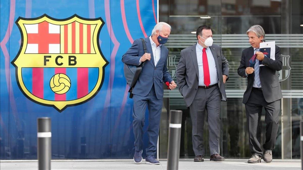 Concurso de acreedores del FC Barcelona si no hay recorte de casi 200 millones