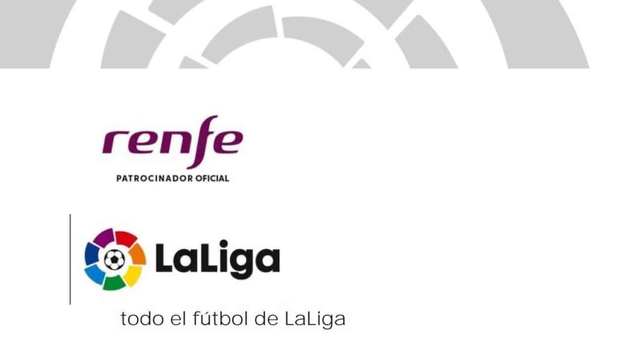 Renfe patrocina las jugadas de alta velocidad de LaLiga