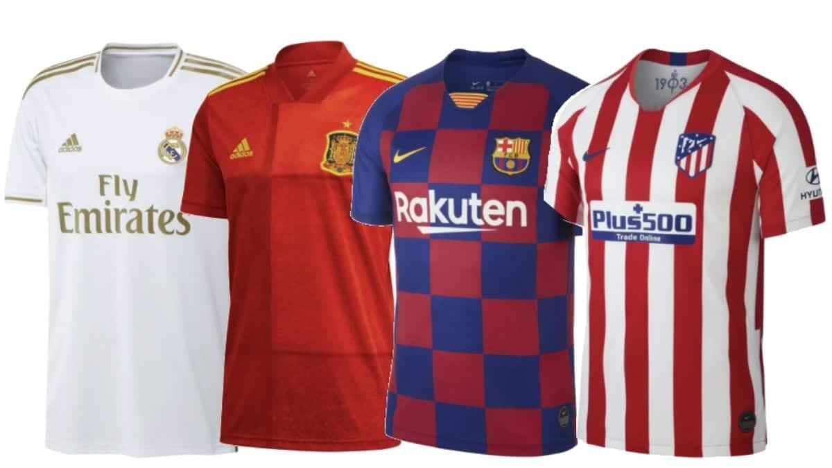 ropa de futbol