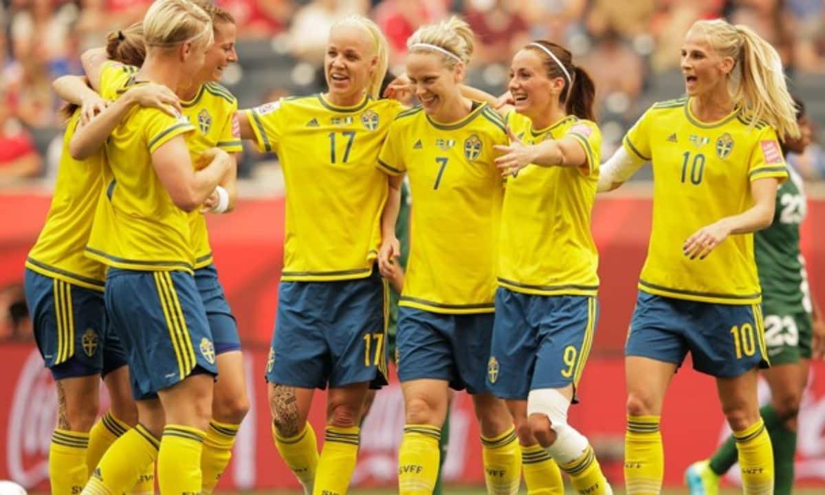 seleccion femenina suecia futbol