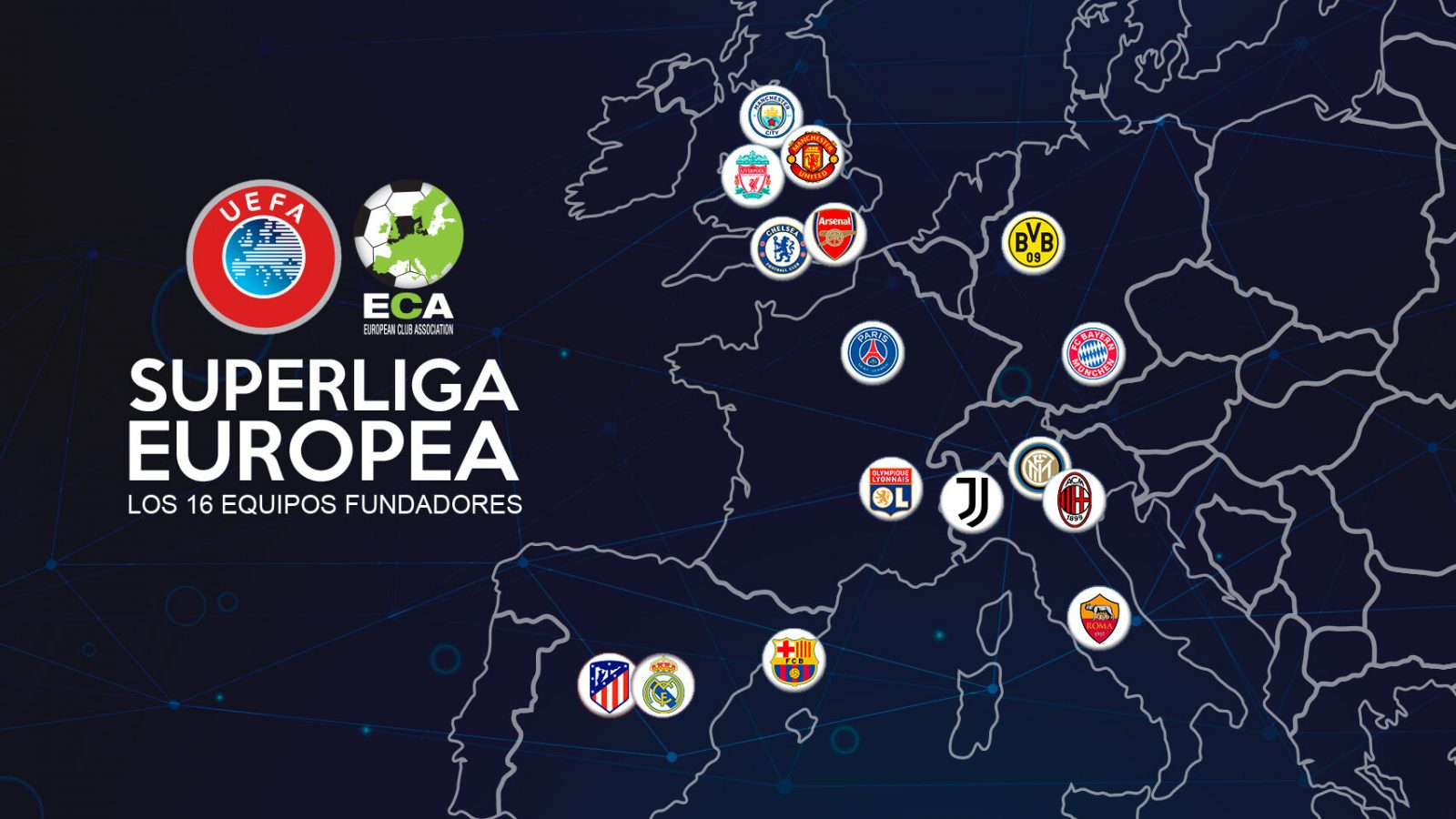 Equipos ingleses quieren romper la Champions League con dinero americano