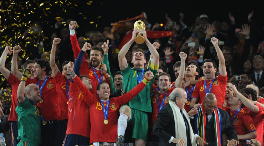 El largo declive del fútbol español