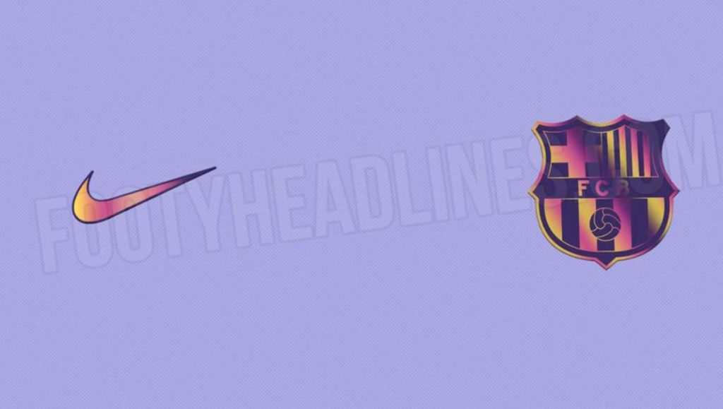 La segunda camiseta del FC Barcelona 2021