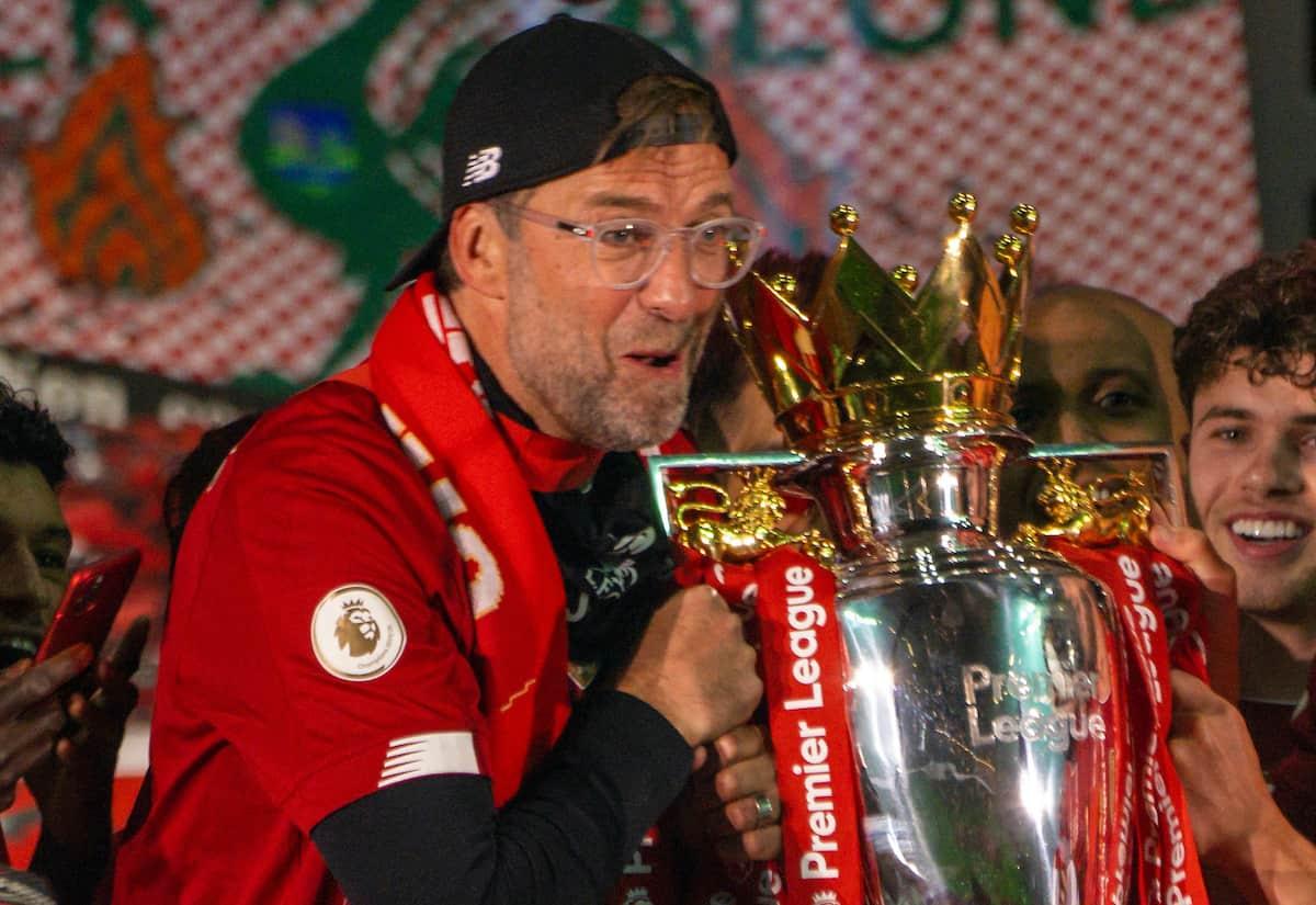 Liverpool y Jurgen Klopp ganan premio equipo y entrenador del 2020