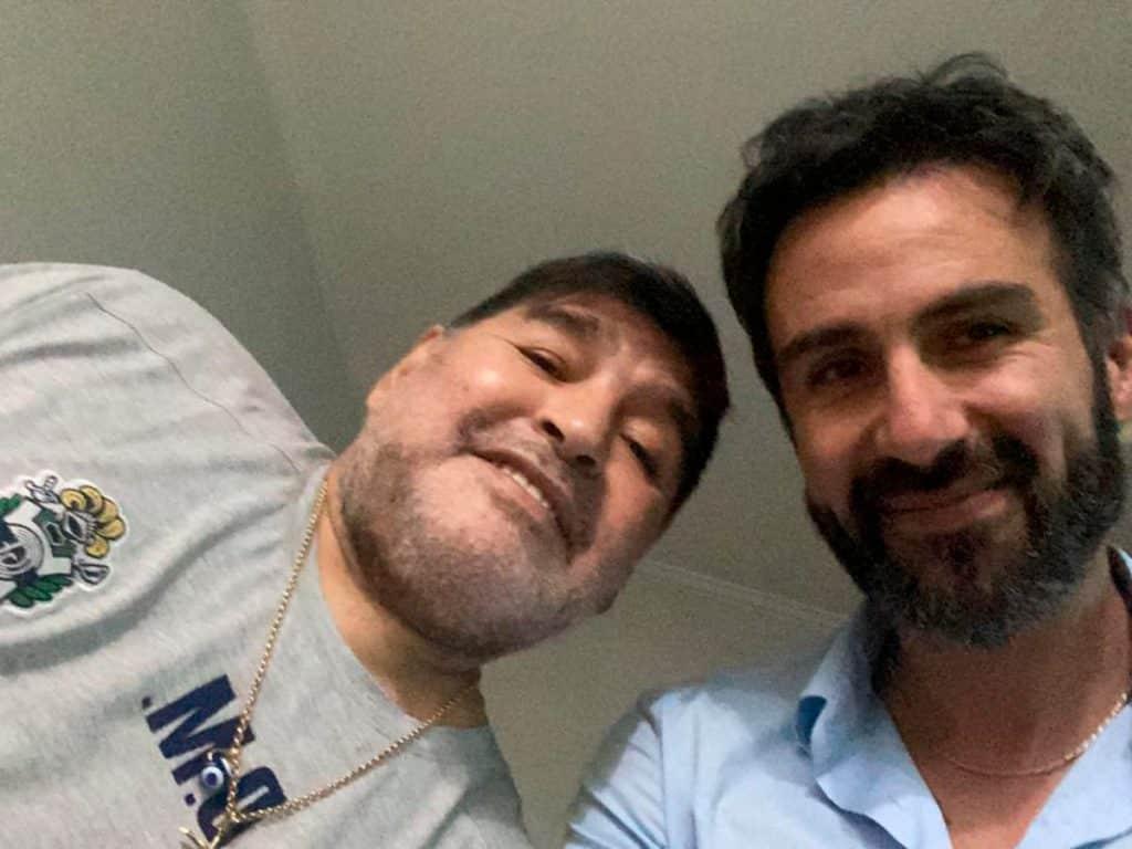 Los chats filtrados de la muerte de Maradona