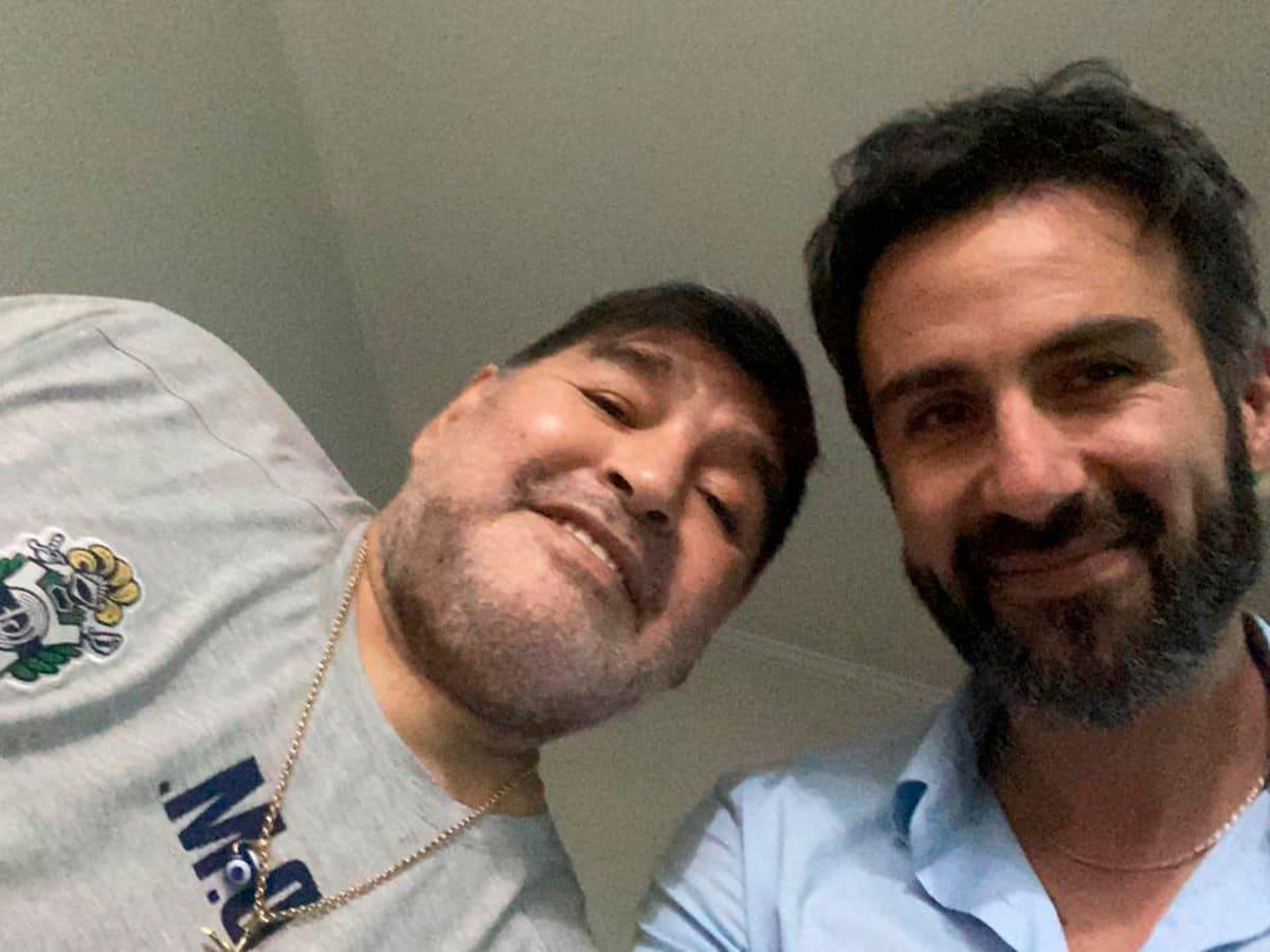 chats filtrados Maradona