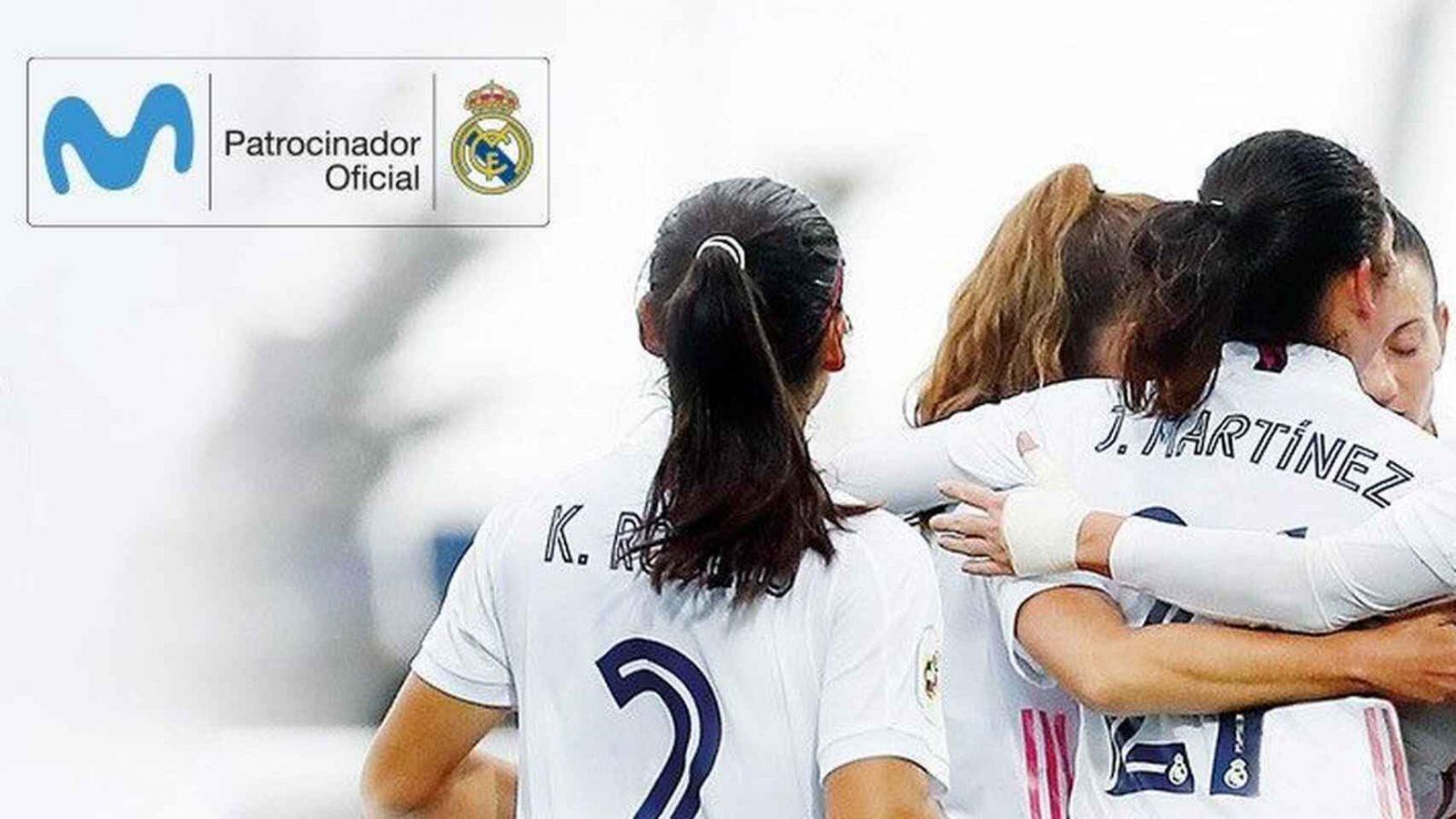 El Real Madrid femenino contará con el patrocinio de Movistar