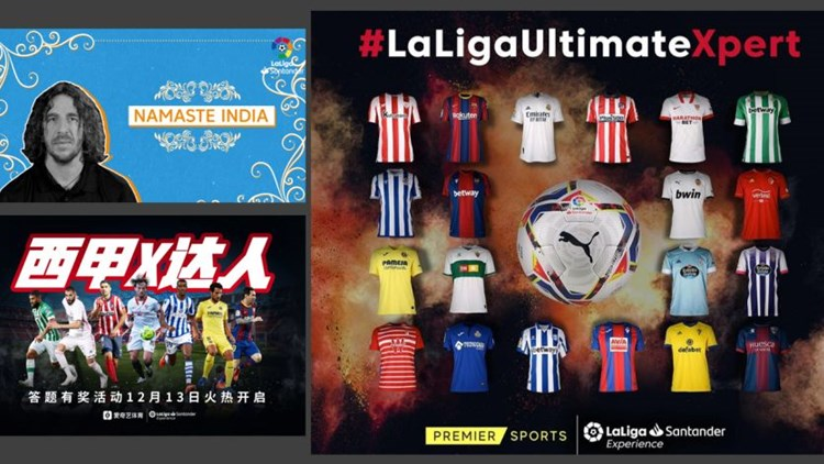LALIGA ULTIMATE XPERT rueda spot con el Atlético de Madrid