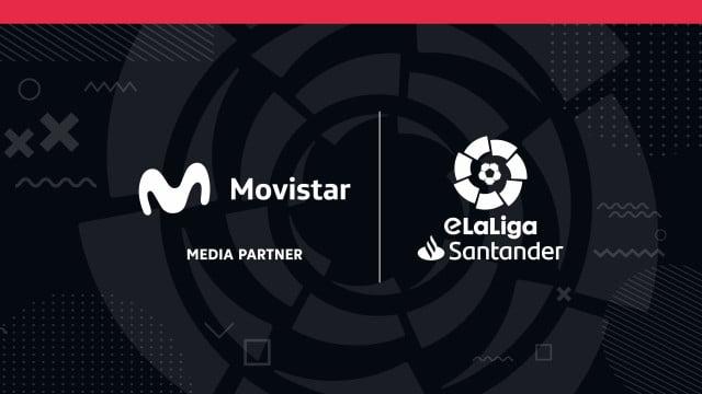 Movistar acuerdo con Laliga por los eSports